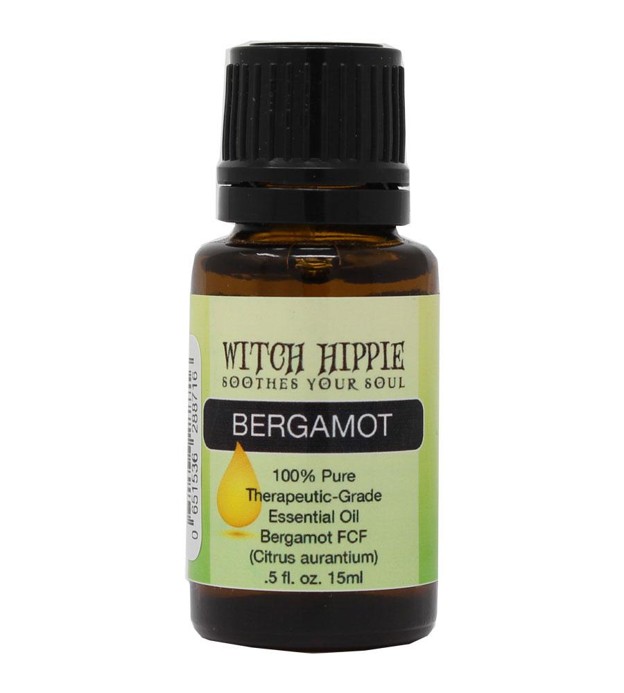 Witch Hippie Bergamot (FCF) 100% Therapeutic-Grade Essential Oil 15ml