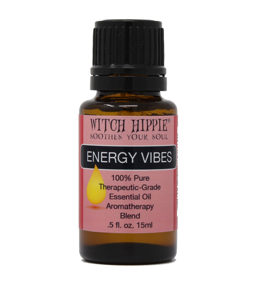 Witch Hippie ENERGY VIBES Aromatherapy Essential Oil Blend 15ml