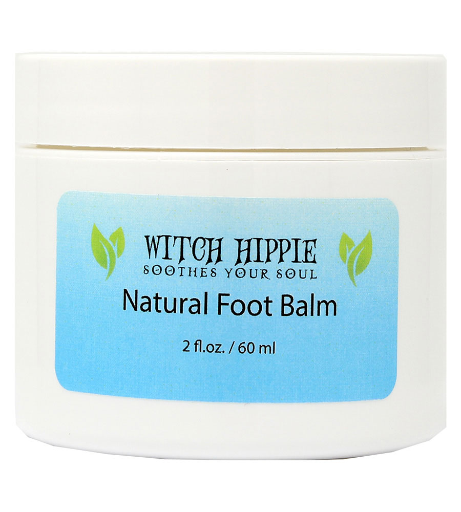 Witch Hippie 2oz. Natural Foot Balm