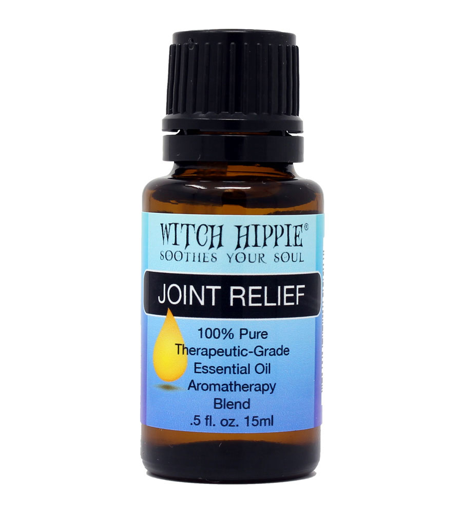 Witch Hippie JOINT RELIEF Aromatherapy Essential Oil Blend 15ml