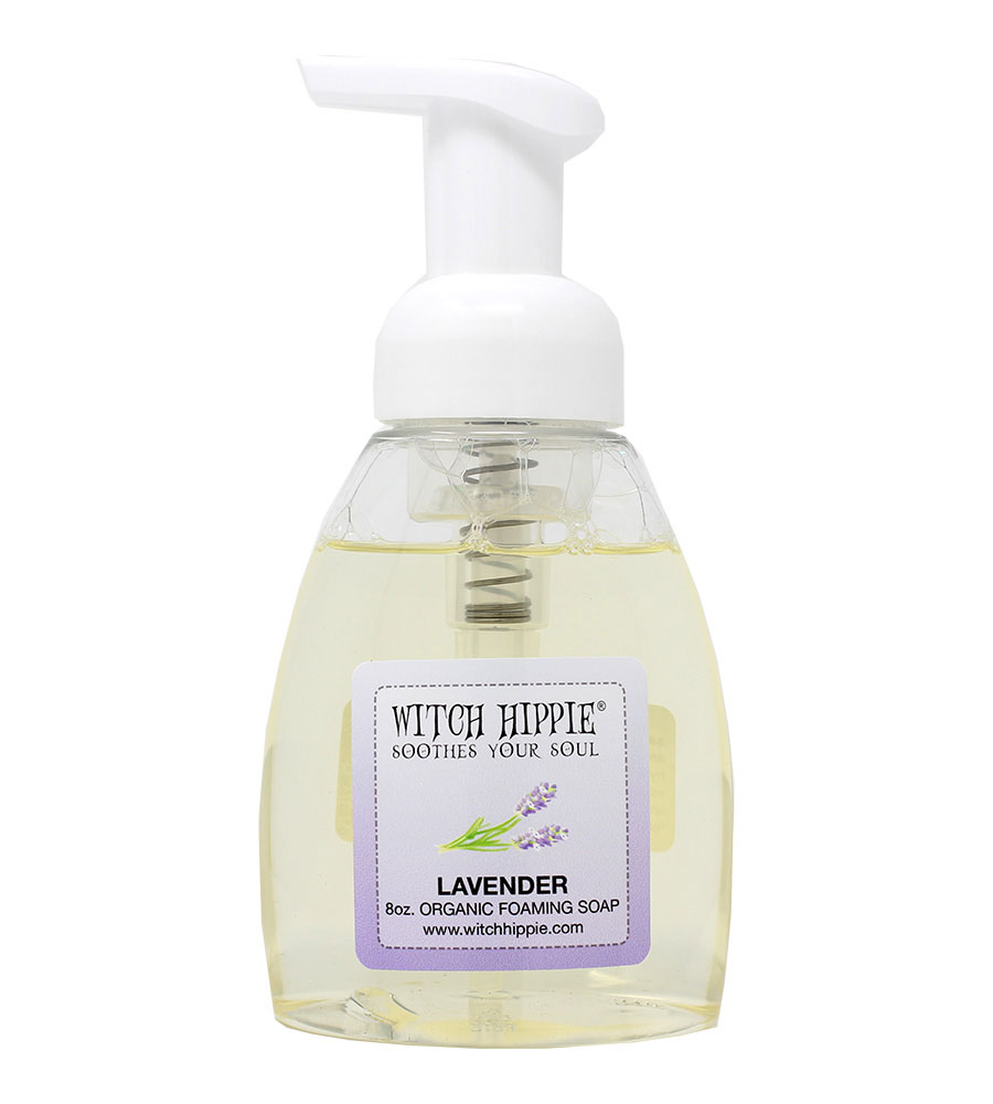 Witch Hippie 8oz Organic Foaming Soaps
