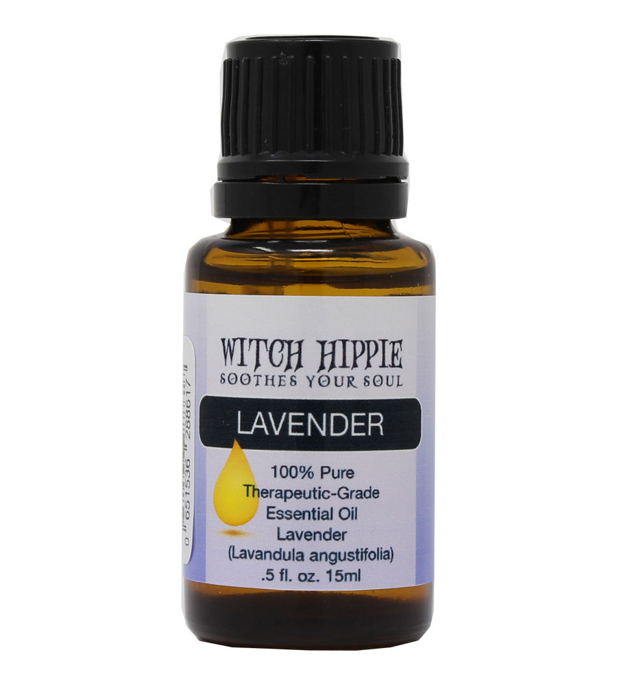 Witch Hippie Lavender (Bulgaria) 100% Therapeutic-Grade Essential Oil 15ml