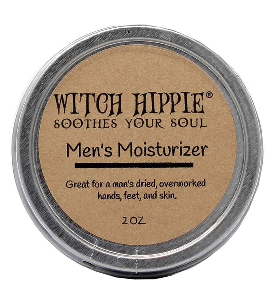 Witch Hippie 2oz. Natural Bees Wax Men's Moisturizer - Heals and Protects Dry Skin