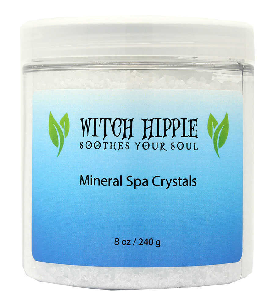 Witch Hippie 8oz. Mineral Spa Crystals