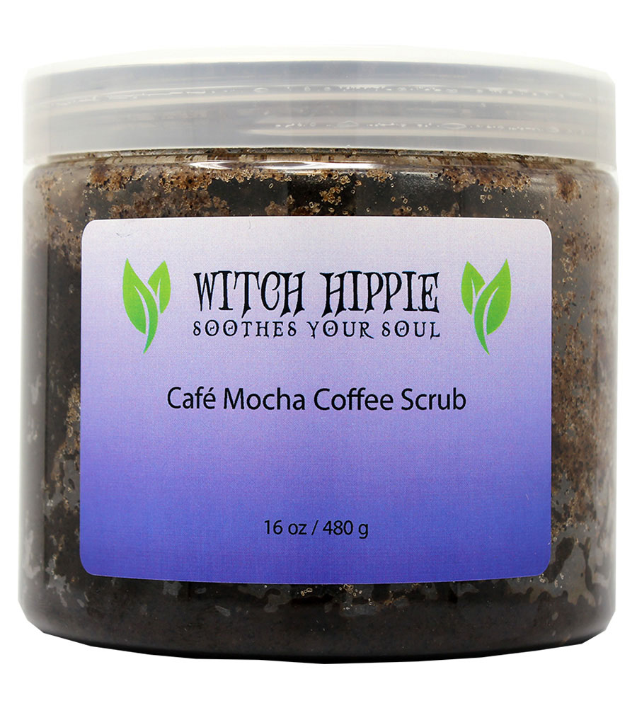 Witch Hippie 16oz. Cafe Mocha Coffee Scrub