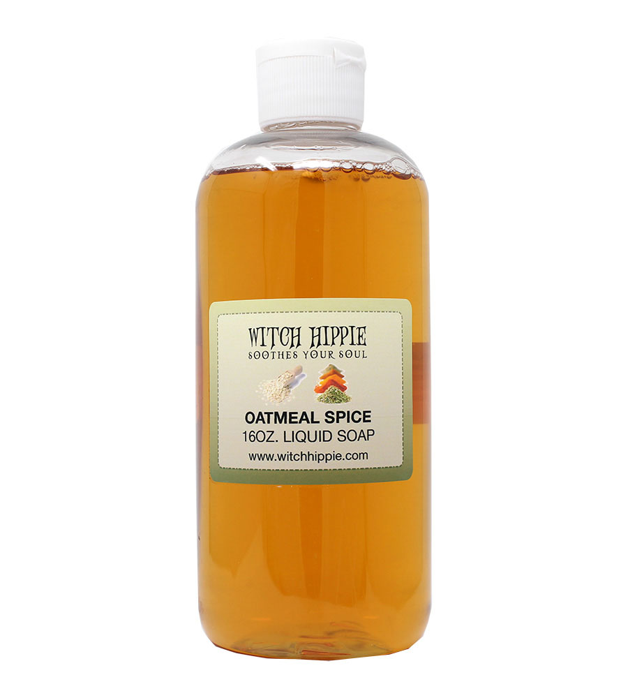 Witch Hippie 16oz Organic Liquid Soaps