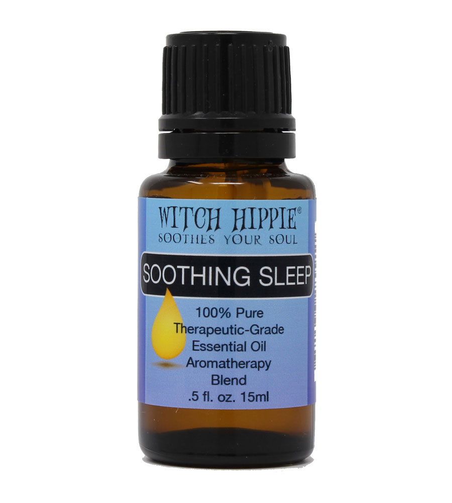Witch Hippie SOOTHING SLEEP Aromatherapy Essential Oil Blend 15ml
