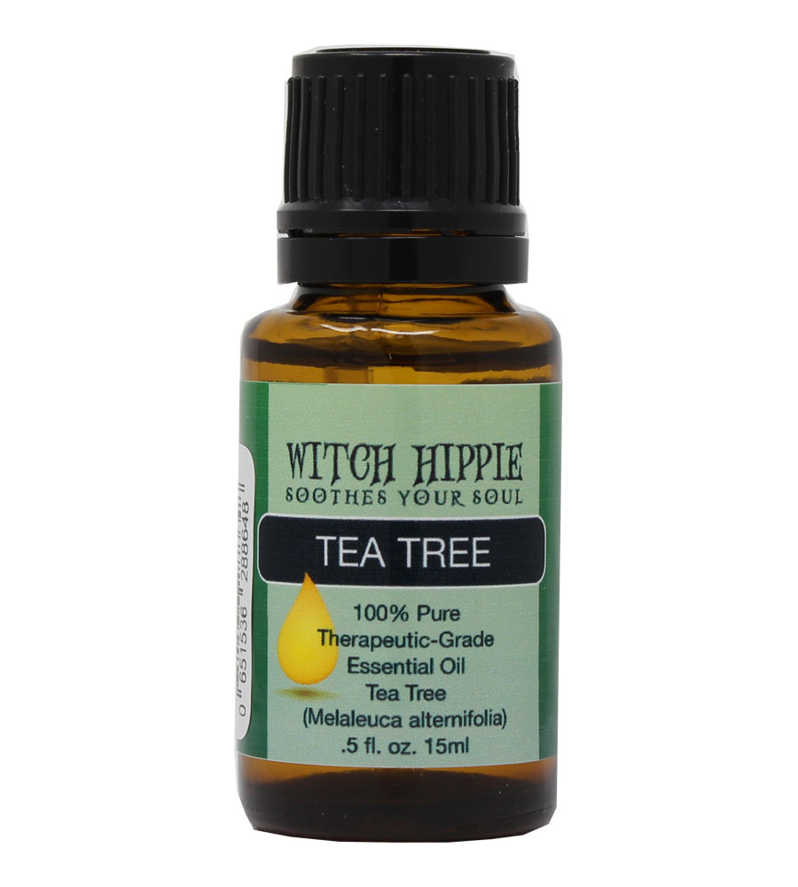Witch Hippie Tea Tree (Melaleuca) 100% Therapeutic-Grade Essential Oil 15ml