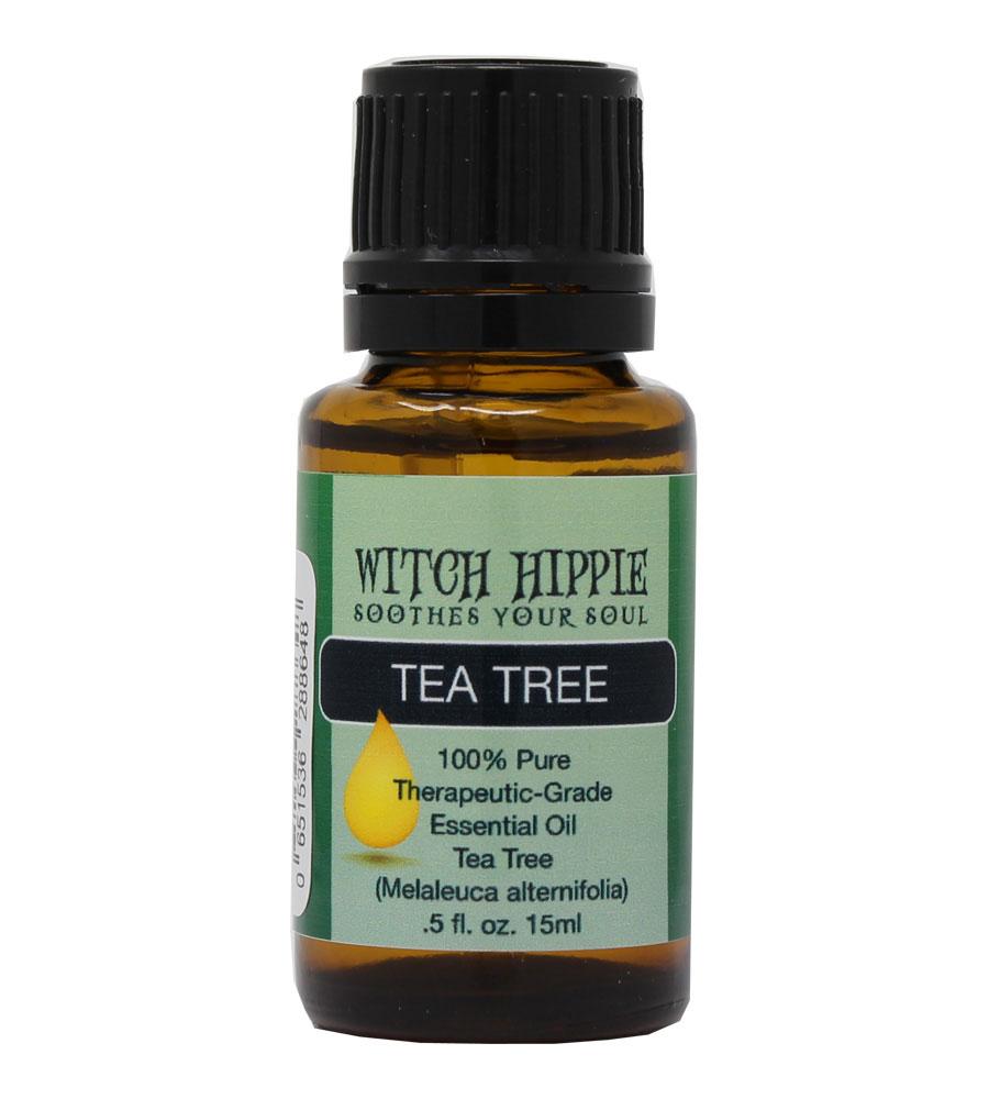 Witch Hippie Tea Tree (Melaleuca) 100% Therapeutic-Grade Essential Oil 15ml