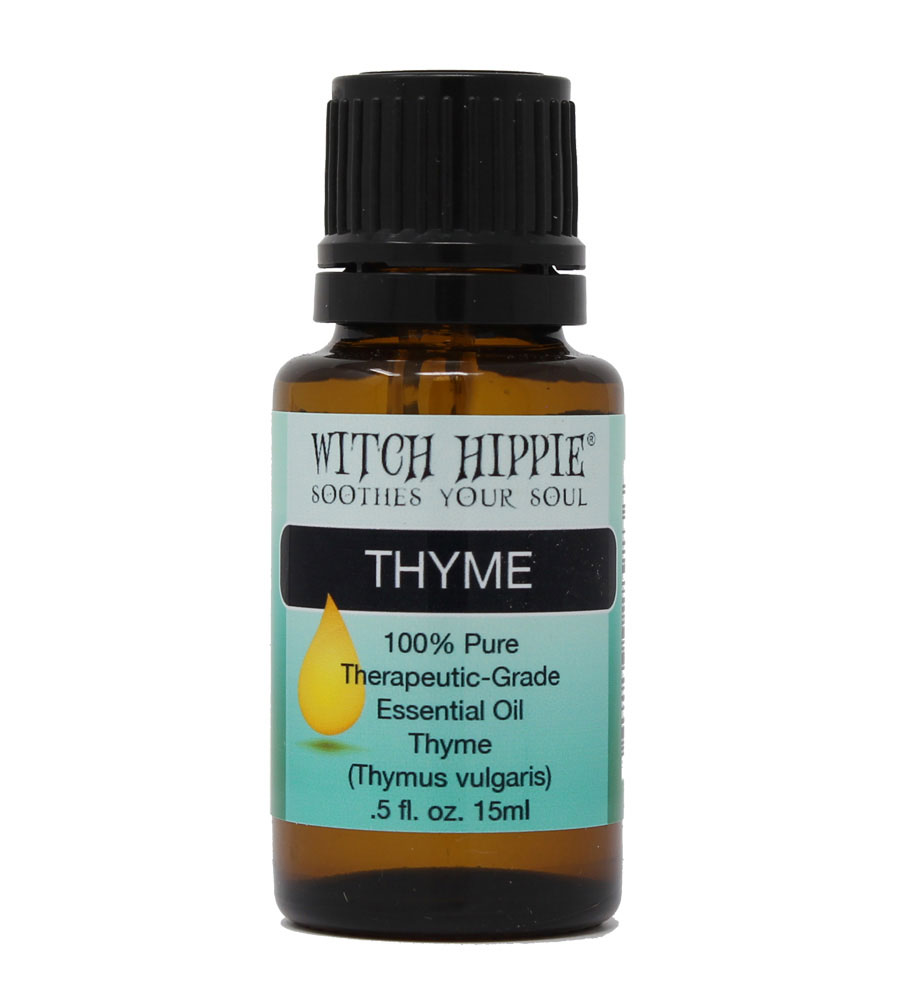 Witch Hippie Thyme (Linalol) 100% Therapeutic-Grade Essential Oil 15ml