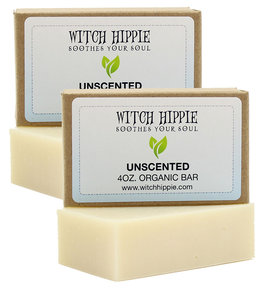 Witch Hippie 4oz Organic Bar Soaps (2 PACK)